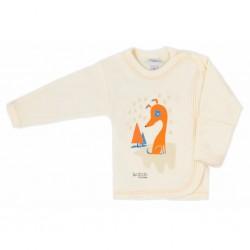 Dojčenská košieľka Bobas Fashion Mini Baby smotanová