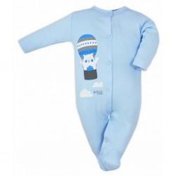Dojčenský overal Bobas Fashion Mini Baby modrý