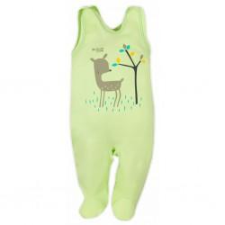 Dojčenské dupačky Bobas Fashion Mini Baby zelené