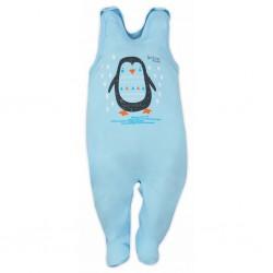 Dojčenské dupačky Bobas Fashion Mini Baby tyrkysové