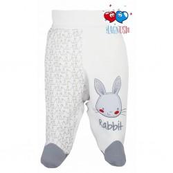 Dojčenské polodupačky Koala Rabbit Magnet biele