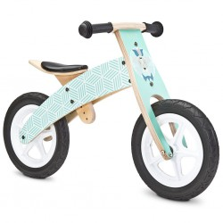 Detské odrážadlo bicykel Toyz  Woody mint