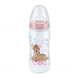 Dojčenská fľaša NUK First Choice Disney 300 ml ružová