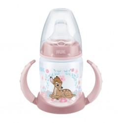 Dojčenská fľaša na učenie NUK Disney 150 ml ružová