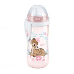 Detská fľaša NUK Disney Classic Kiddy Cup 300 ml ružová