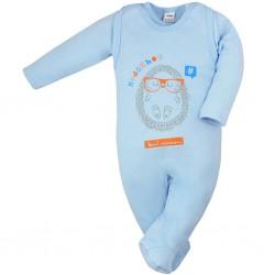 Dojčenská súprava Hedgehog Amma modrá