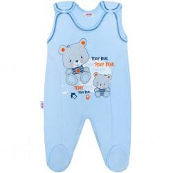 Dojčenské dupačky New Baby teddy modré