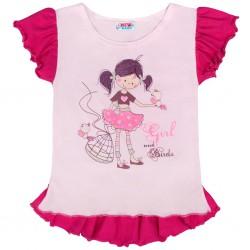 Detská letná tunika New Baby Girl ružová