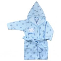 Detský župan Koala Be Happy modrý