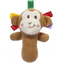 Plyšová hračka s pískatkom Akuku opica
