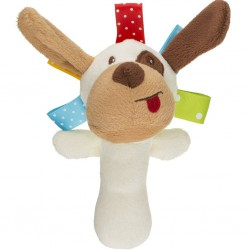 Plyšová hračka s pískatkom Akuku psíček