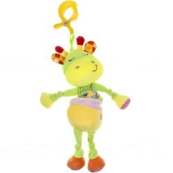 Plyšová hračka s hracím strojčekom žirafka