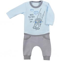 2-dielna dojčenská súpravička Koala Swing modrá