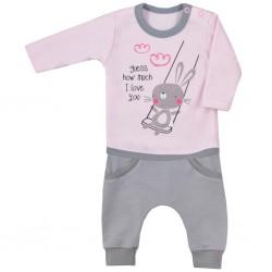 2-dielna dojčenská súpravička Koala Swing ružová