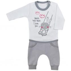 2-dielna dojčenská súpravička Koala Swing biela