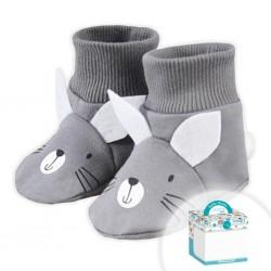 Detské capačky Koala Swing v krabičke sivé