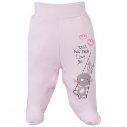 Dojčenské polodupačky Koala Swing ružové