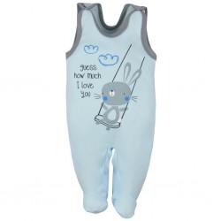 Dojčenské dupačky Koala Swing modré
