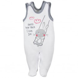 Dojčenské dupačky Koala Swing biele