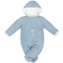 Zimná dojčenská kombinéza Baby Service Animals modrá