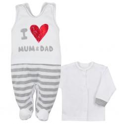 2-dielna bavlnená súprava Koala Mum and Dad