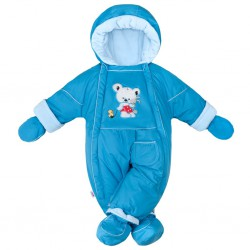 Zimná kombinéza 2v1 New Baby Winter modrá