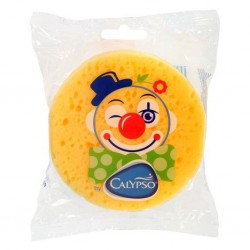 Kúpeľová huba Klaun Calypso žltá