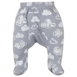 Dojčenské polodupačky Koala Clouds biele obláčiky