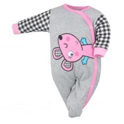 Dojčenský overal Koala Roar ružový