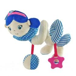 Hračka na postieľku Špirála Baby Mix námorník dievča blue