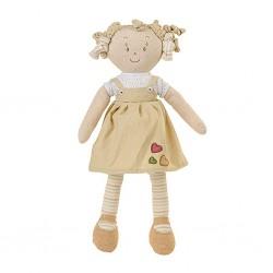 Látková bábika Lily Baby Ono béžová