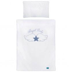 5-dielne posteľné obliečky Belisima Angel Baby 100/135 modré