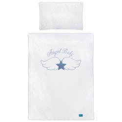6-dielne posteľné obliečky Belisima Angel Baby 100/135 modré