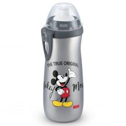 Detská fľaša NUK Sports Cup Disney Cool Mickey 450 ml grey
