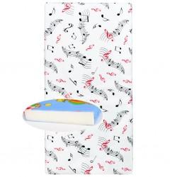 Detská penová matrac biela - rôzne obrázky