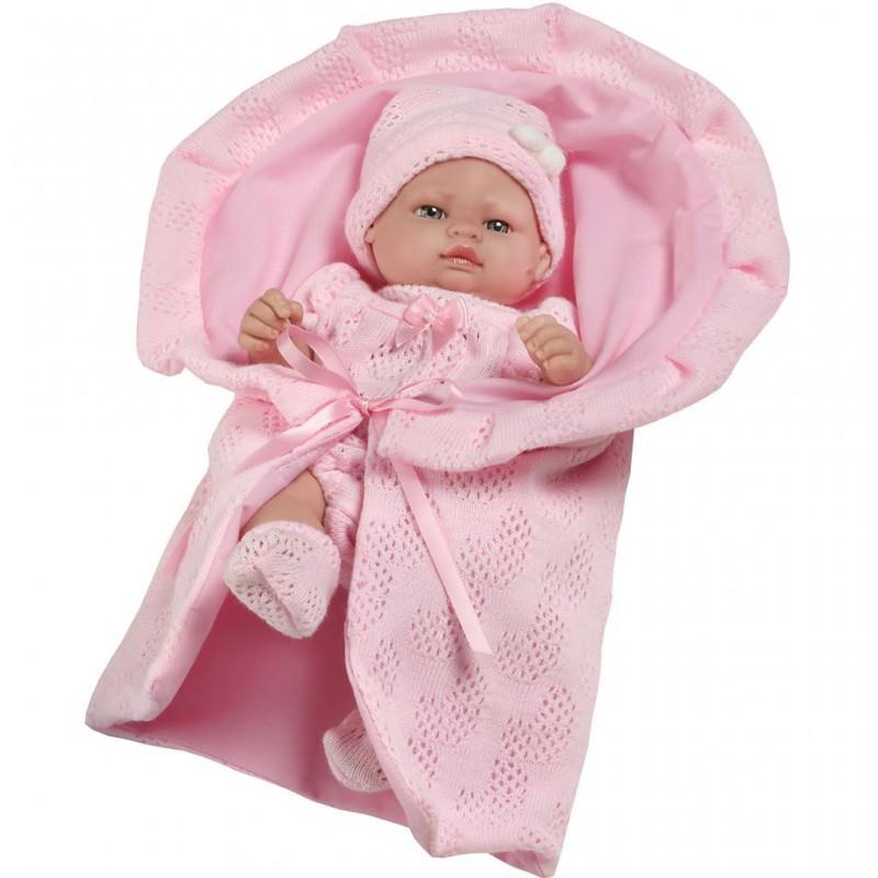 e37da97c0bef Luxusná španielska bábika Valentina - bábätko do kočíka pre bábiky