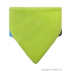 Nákrčník detský zelený modrý