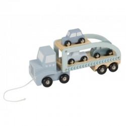 Little Dutch nákladiak s autíčkami