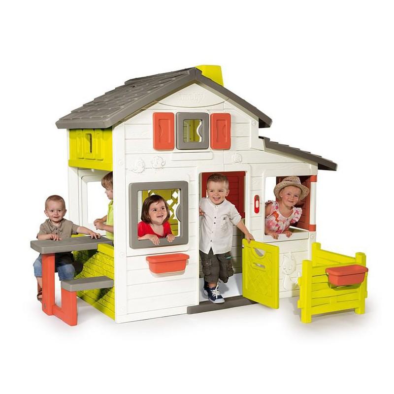 smoby dom ek friends house. Black Bedroom Furniture Sets. Home Design Ideas